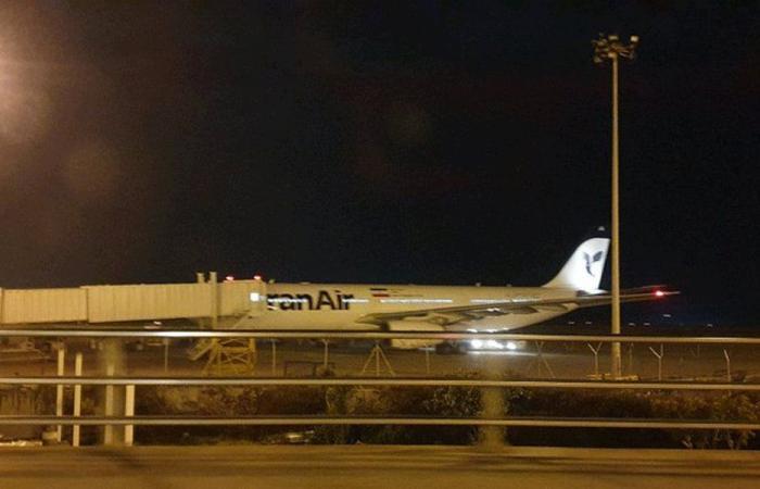 الطائرة الإيرانية في بيروت