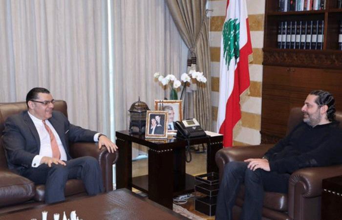 العلاقات اللبنانية المصرية بين الحريري وعلوي