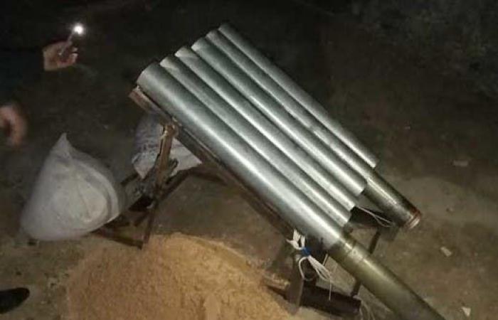 العراق   بالصور.. من هنا انطلقت الصواريخ على المنطقة الخضراء