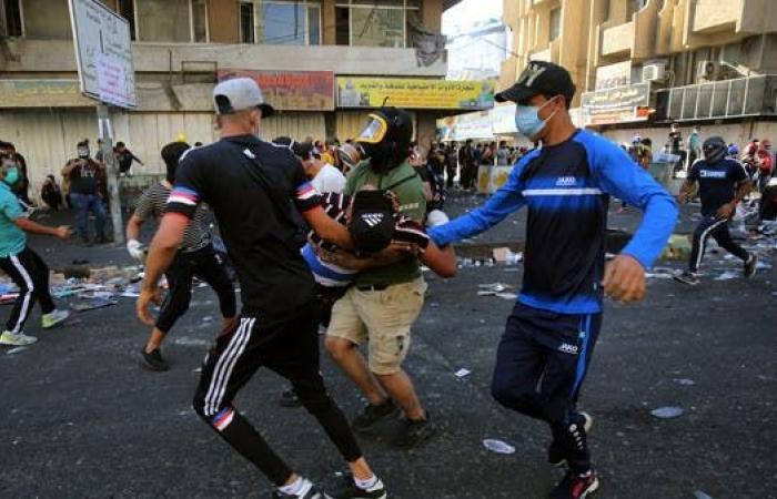 العراق | اشتباكات في وسط بغداد.. وإصابات ببنادق الصيد مجددا
