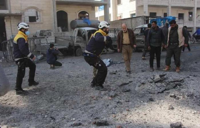 سوريا | إدلب : عشرات الشهداء والجرحى بانفجار هز المدينة