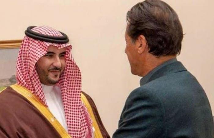 السعودية   خالد بن سلمان يلتقي عمران خان لبحث التعاون الدفاعي