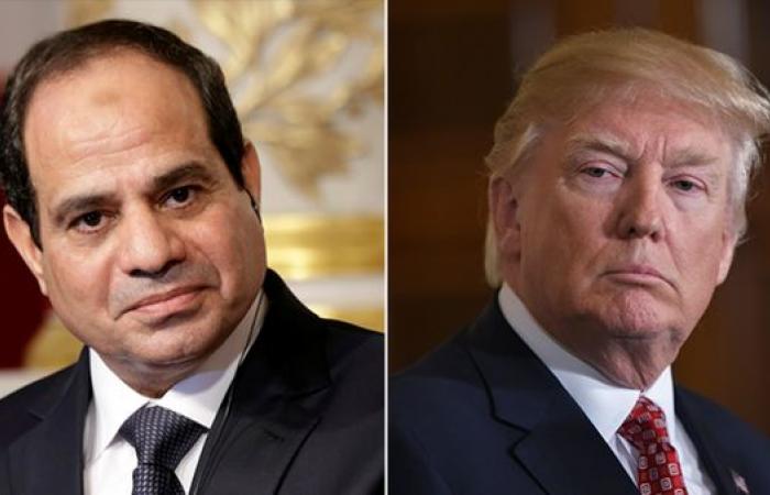 مصر   ترمب للسيسي: مستمرون في جهودنا لإنهاء اتفاق سد النهضة
