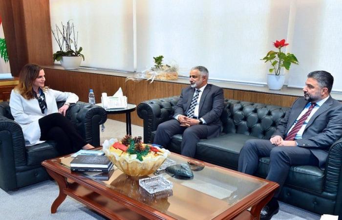 عبد الصمد عرضت مع الهمامي تعزيز العلاقات بين وزارة الاعلام واليونيسكو