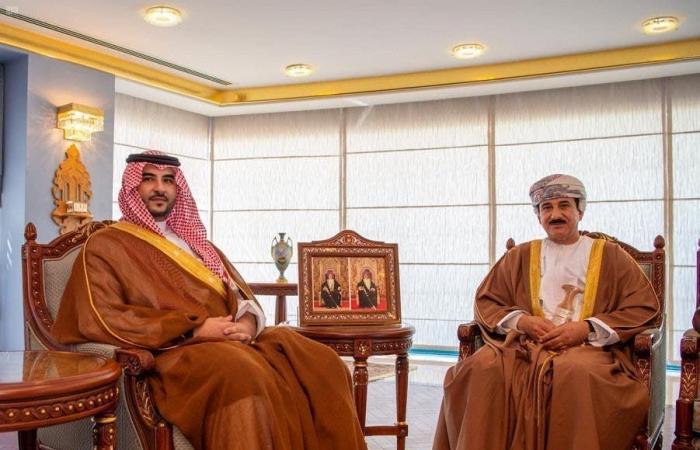 السعودية   سلطان عُمان يبحث العلاقات الثنائية مع نائب وزير الدفاع السعودي