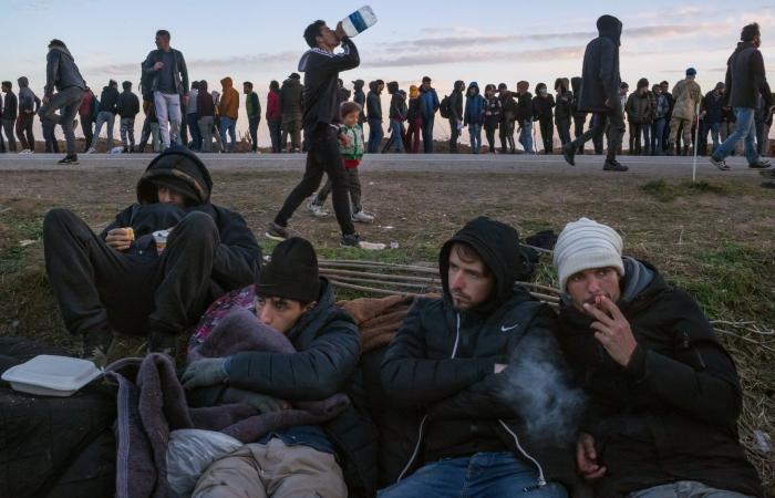 1000 شرطي تركي على الحدود مع اليونان لمنع عودة المهاجرين