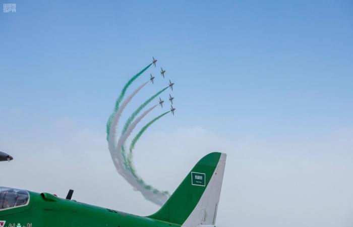 السعودية   الصقور السعودية تحبس أنفاس زوار معرض الطيران بتونس