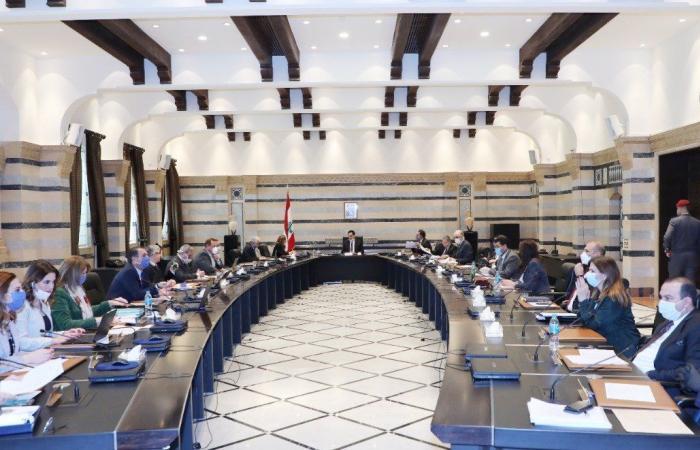 دياب يرأس جلسة مجلس الوزراء في السراي