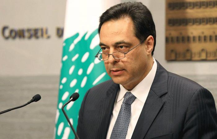 دياب: نأمل أن يزول كابوس كورونا عن اللبنانيين