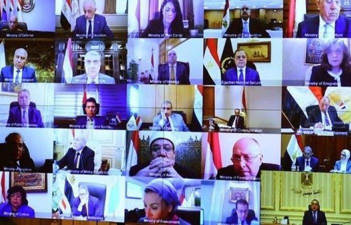 مصر | حكومة مصر تجتمع بالفيديو.. وتتخذ تدابير جديدة ضد كورونا