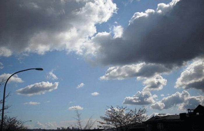 طقس السبت غائم مع انخفاض بالحرارة وأمطار متفرقة