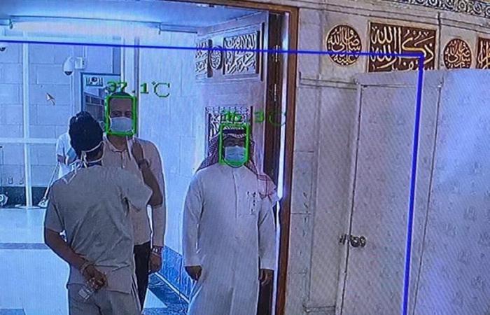 السعودية | كاميرات حرارية لفحص مرتادي الحرمين لمكافحة الوباء