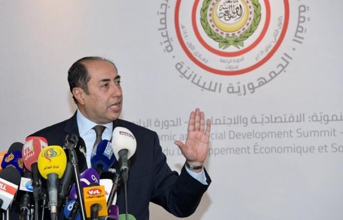 الجامعة العربية تتابع بقلق التطورات على الساحة اللبنانية
