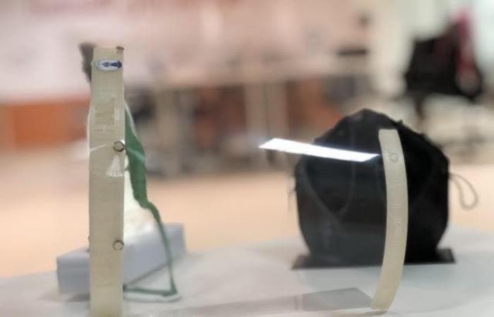 السعودية   جامعة حائل تنتج أقنعة طبيّة عبر الطابعات الثلاثية الأبعاد
