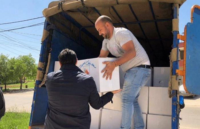 توزيع أكثر من 2000 حصة غذائية في البقاع الغربي وراشيا