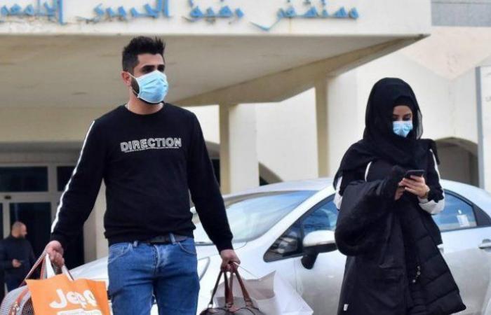 """مستشفى الحريري: إصابتان بـ""""كورونا"""" و5 حالات شفاء"""