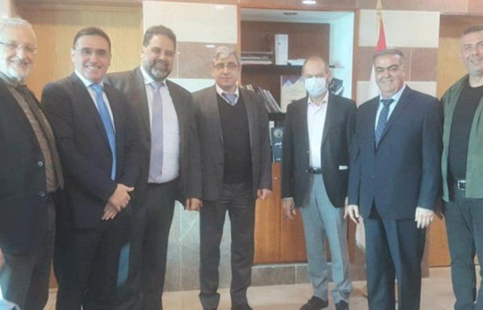 المجذوب التقى وفدًا من اتحادي لجان الأهل في كسروان جبيل والمتن