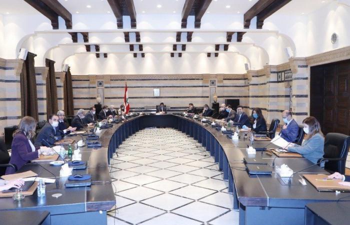 مجلس الوزراء ملتئم برئاسة عون ويبحث في جدول أعمال من 14 بندا