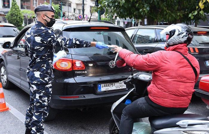 """""""قوى الأمن"""": مستمرون في توزيع الكمامات للمواطنين"""