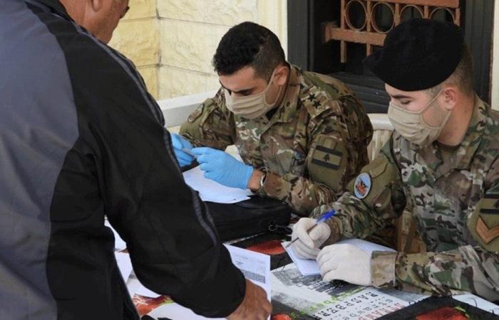 الجيش واصل توزيع المساعدات في قضاء الكورة