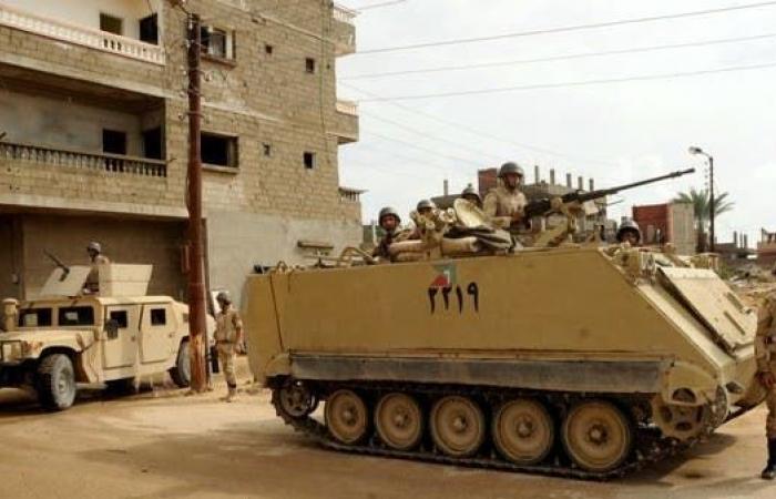 مصر   انفجار عبوة ناسفة في مدرعة شمال سيناء