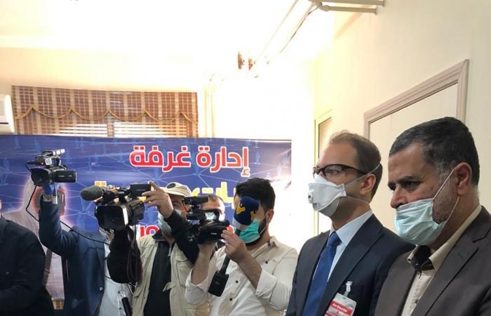 خضر اطلع على جهوزية الهيئة الصحية ومراكز الحجر في دورس