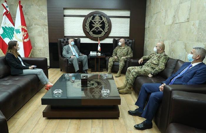 قائد الجيش عرض مع كوبيتش أوضاع لبنان والمنطقة