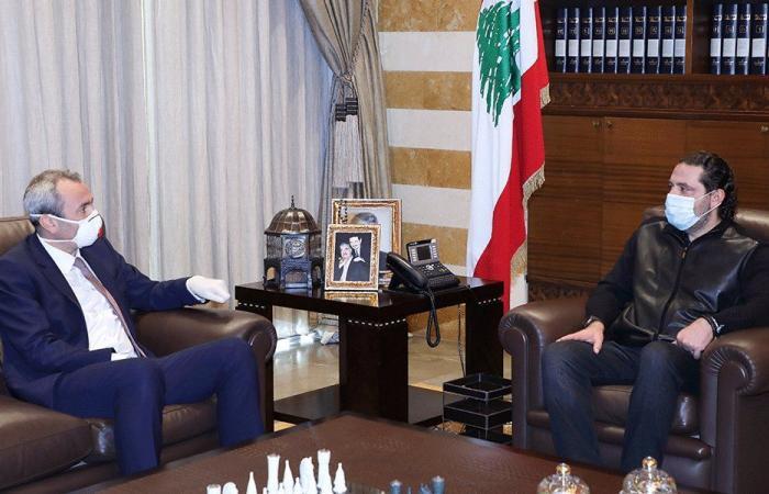 الحريري عرض وسفير بريطانيا الأوضاع العامة