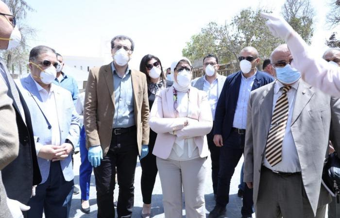 مصر | مصر تجهز 34 مستشفى لاستقبال مرضى كورونا