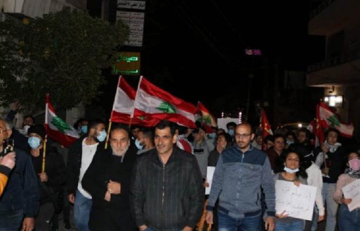 مسيرة في الهرمل في عيد العمال