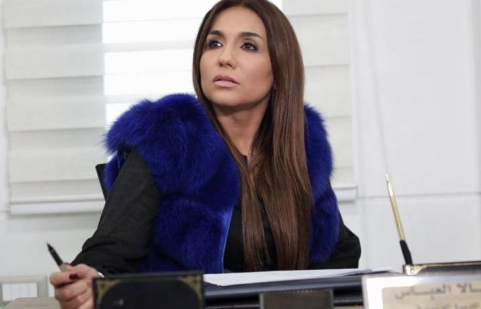 رنا شميس تخفي ملامح الجريمة في مقابلة مع السيد ادم بدهائها
