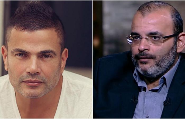 مؤلف فالنتينو يتراجع عن قرار اعتزاله بضغوط زوجته.. ما علاقة عمرو دياب؟