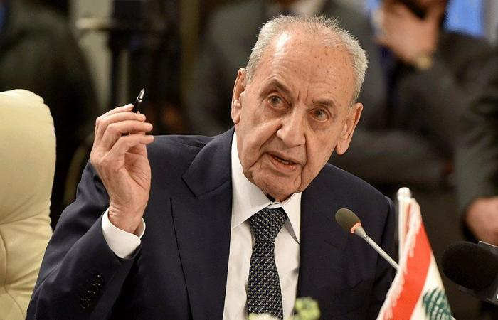 بري يبرق إلى رئيس الوزراء العراقي