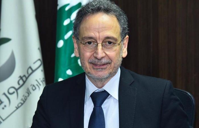 وزير الاقتصاد: جاهزون لتدريب عناصر البلديات لمساعدتنا