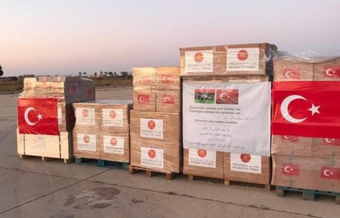 تونس تسمح لطائرة تركية بالهبوط لنقل مساعدات طبية إلى ليبيا