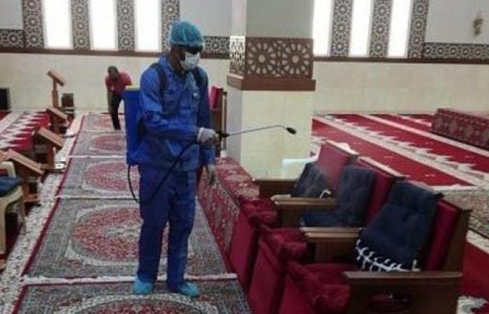 السعودية   السعودية: الشؤون الإسلامية تنهي ثاني مرحلة من تعقيم المساجد
