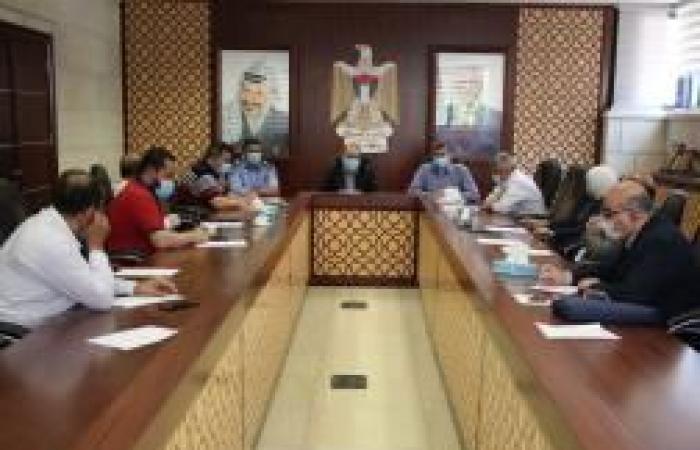 فلسطين | لجنة السير في نابلس تناقش عددا من القضايا الحيوية