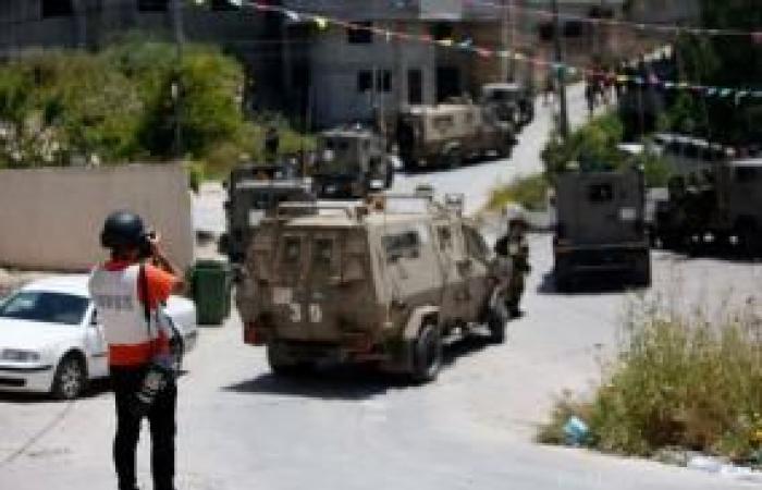 فلسطين   نقابة الصحفيين تستنكر اعتداء قوات الاحتلال على الصحفيين ناصر ومجدي اشتية في يعبد
