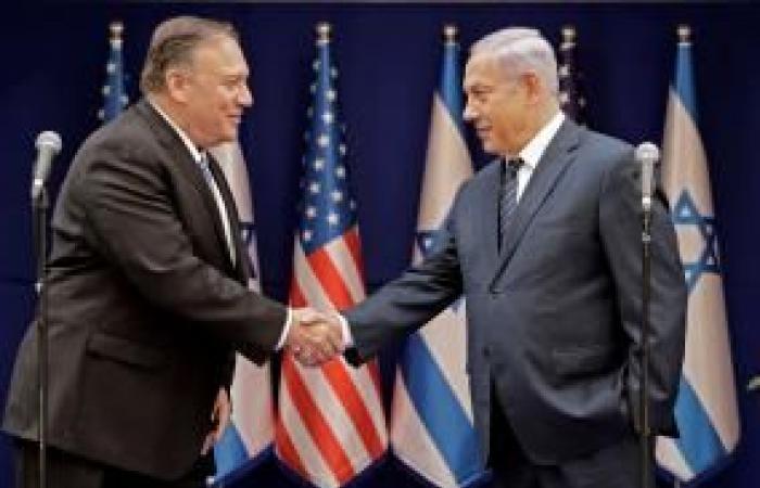 فلسطين   وصول بومبيو إلى إسرائيل في زيارة ستستمر بضع ساعات