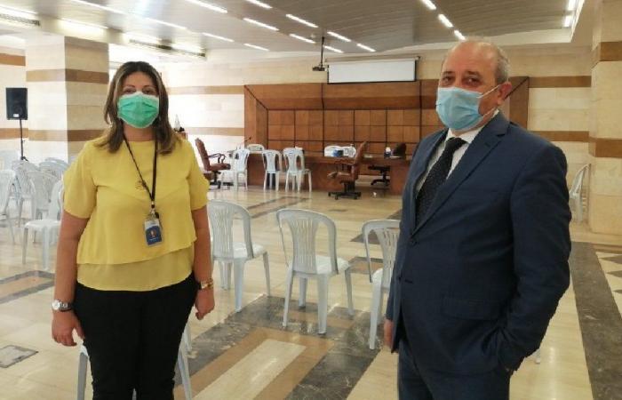 إجراء فحوصات PCR لمحامين وجدوا في المحكمة العسكرية