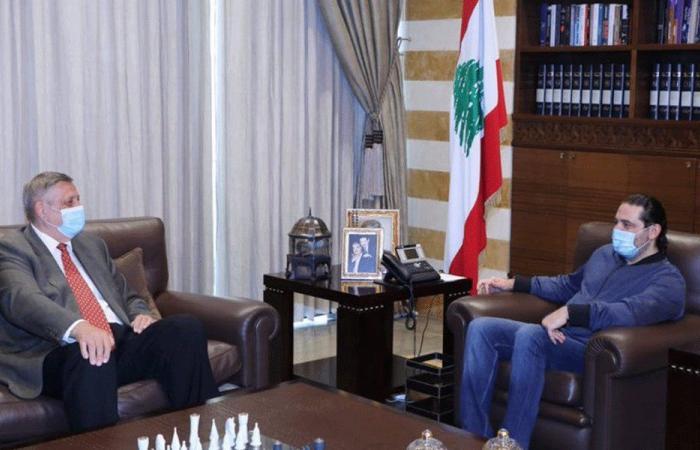 الحريري عرض مع كوبيتش آخر المستجدات