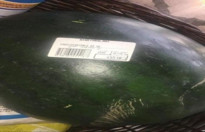 """""""عَ السكين يا بطيخ""""... السعر الجديد 45 الف ليرة حجم وسط!"""