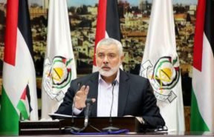 فلسطين   هنية: لا اختراق في صفقة التبادل وقادرون على أسر مزيد من الإسرائيليين