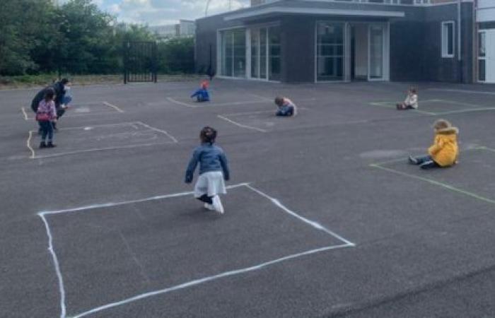 صورة تفطر القلب.. هكذا يلعب الأطفال في زمن الوباء