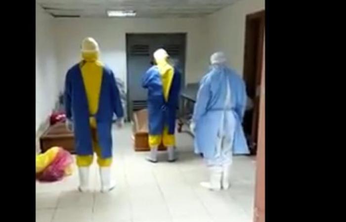 مصر | فيديو.. عائلة متوفى بكورونا ترفض استلام جثمانه وتغسيله