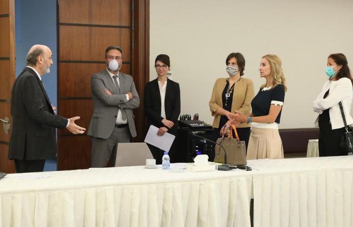 سفيرات سويسرا وكندا والنرويج في معراب