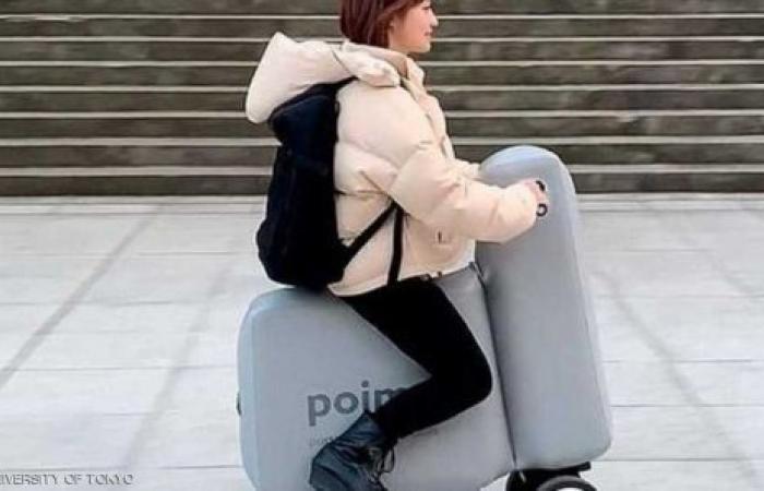 دراجة كهربائية قابلة للطي والنفخ والحمل في الحقيبة