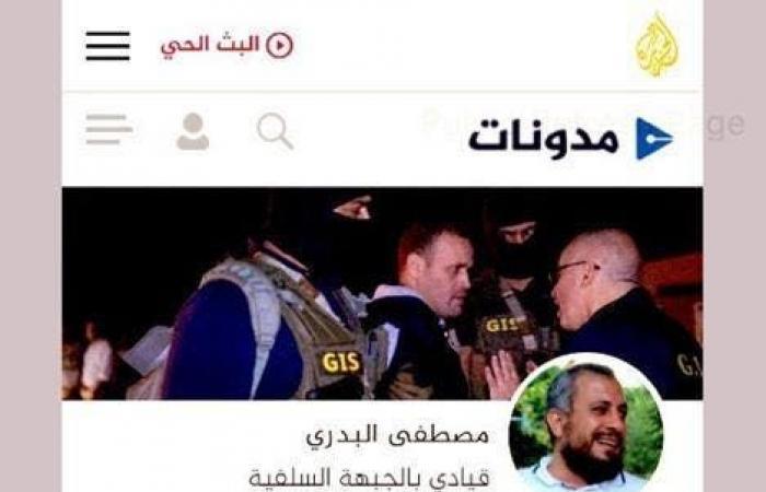 مصر | من هو السلفي الذي استكتبته الجزيرة لتمجيد عشماوي؟
