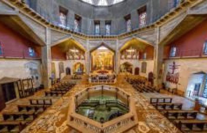 فلسطين   القدس: الكنائس التي تسير على التقويم الغريغوري تحتفل بعيد الصعود