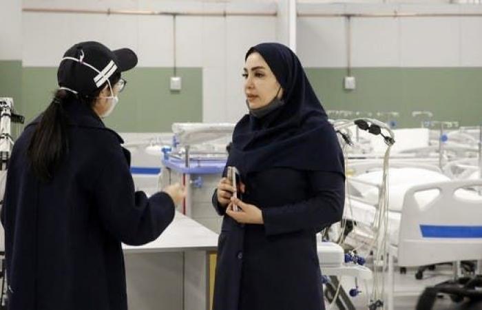 إيران | إيران:إصابة 10 آلاف عامل صحيبكوروناووفاة بعضهم